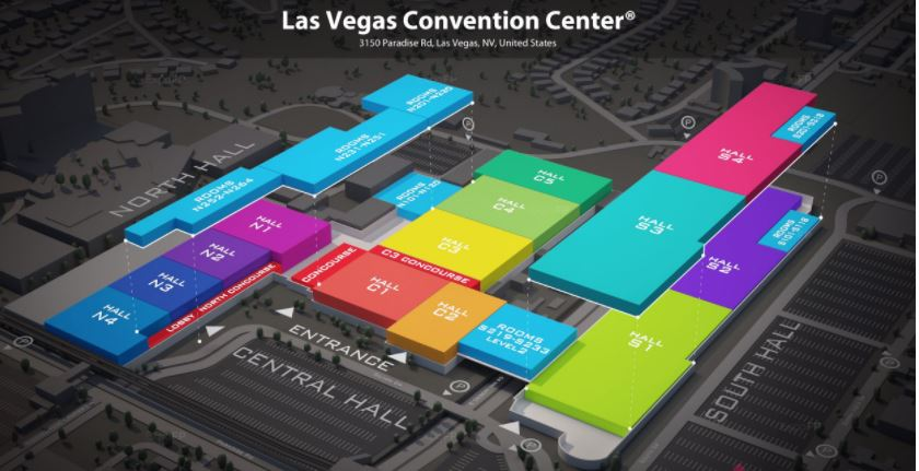 LVCC Convention Center All